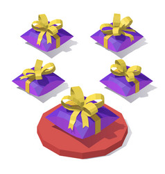 gift envelope with bow vector image