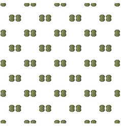 Military knee pads pattern vector