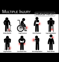 Multiple injury set vector