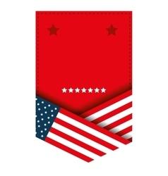 united states of america emblem vector image