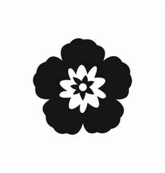 Rose of sharon korean flower icon simple style vector