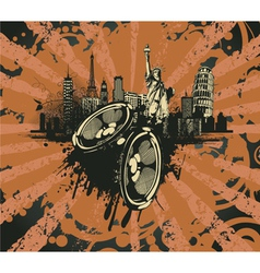 music vector image