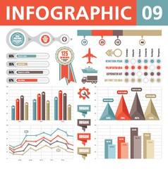 Infographic Elements 09 vector image