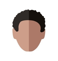 Man head icon male avatar design graphic vector