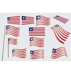 flag of Liberia vector image