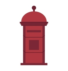 Post mailbox vector