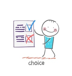 Choice vector