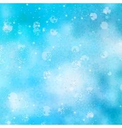 Beautiful christmas bokeh vector image