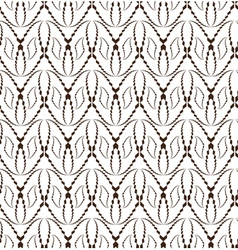 Abstract seamless pattern with face-shape figures vector
