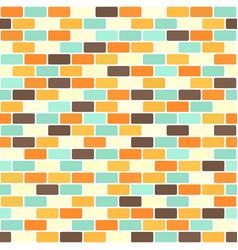 Brick pattern seamless brick wall vector