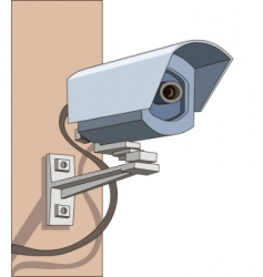 Surveillance camera vector
