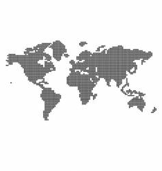 Map of the world vector