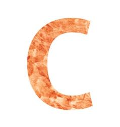 C land letter vector