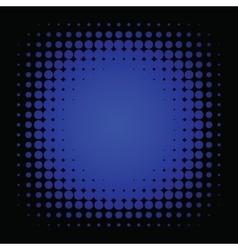 Halftone colorful retro vector image