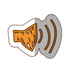 audio volume technology icon vector image vector image