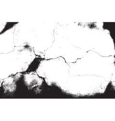 Distress cracked texture vector