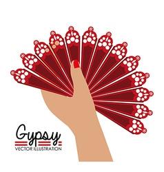Gipsy design vector image