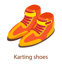 shoes sport icon isometric 3d style vector image vector image
