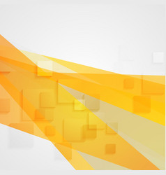 Abstract orange concept tech minimal background vector