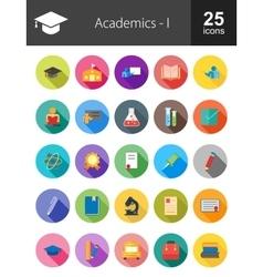 Academics vector image