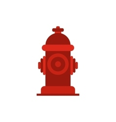 Fire hydrant icon vector image