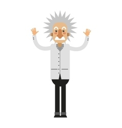 Albert einstein icon vector