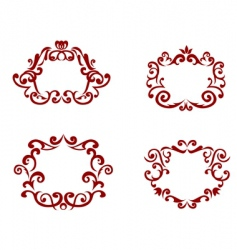 Decorations vector