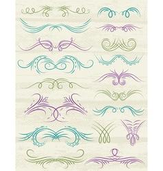 Decorative ornaments suitable for design vector