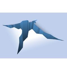 Ice Crack vector image