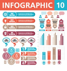 Infographic elements 10 vector