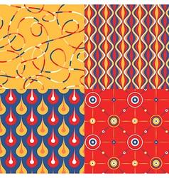 pattern set pop vector image