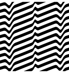Monochrome movement white black abstract wave vector