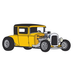 Hot rod vector