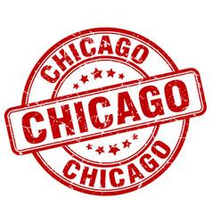 Chicago stamp vector