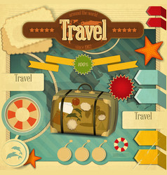 Vacation Card vector image