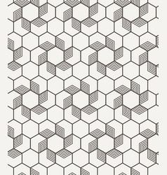Abstract geometric seamless graphic hipster vector