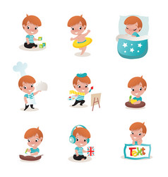 child activity vector image vector image