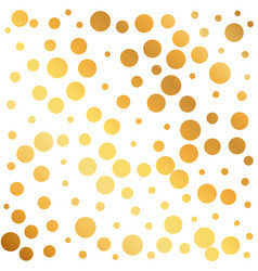 Golden circles pattern background can be used as vector