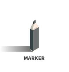 marker icon symbol vector image vector image