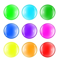 Ball color fun vector