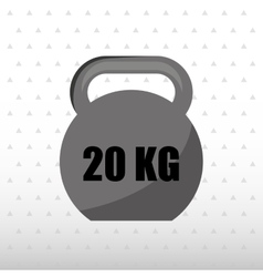 gym sport icon design vector image