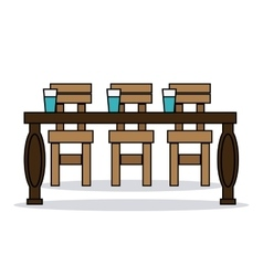 Home related chairs vector