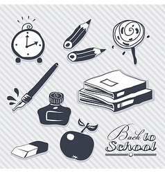 Back to School Set vector image