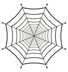 Cobweb spiderweb gossamer vector