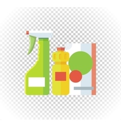 Household chemical appliances vector