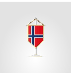 National symbols of european countries norway vector