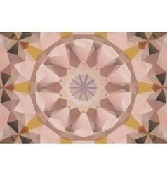 Seamless mandala design vector image vector image