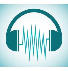 Sound design vector image vector image