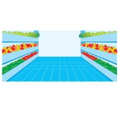 supermarket vector image vector image