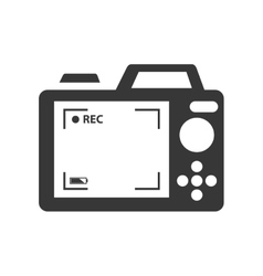 Camera digital photography vector